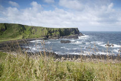 Giants Causeway Coast, County; Antrim. Northern Ireland stock photos