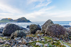 Giants Causeway coast Royalty Free Stock Images