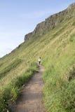 Giants Causeway Coastal Footpath; County Antrim; Northern Ireland. UK royalty free stock image