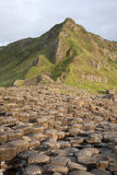 Giants Causeway Coastal Footpath; County Antrim. Northern Ireland stock photo