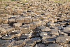 Giants Causeway, County Antrim. Northern Ireland stock photos