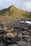 Giants Causeway, County Antrim. Northern Ireland royalty free stock photos