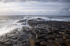 Giants Causeway, County Antrim. Northern Ireland stock image