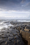 Giants Causeway, County Antrim. Northern Ireland stock photography