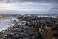 Giants Causeway, County Antrim. Northern Ireland royalty free stock photography
