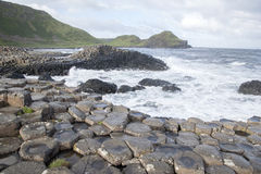 Giants Causeway, County; Antrim. Northern Ireland stock photos