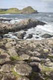 Giants Causeway, County; Antrim. Northern Ireland stock images