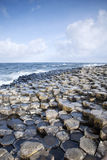 Giants Causeway, County; Antrim. Northern Ireland royalty free stock images