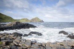 Giants Causeway, County; Antrim. Northern Ireland stock photo