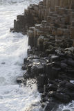 Giants Causeway, County Antrim. Northern Ireland royalty free stock images