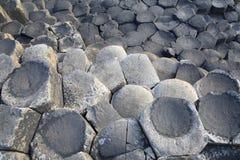 Giants Causeway; County Antrim; Northern Ireland. UK royalty free stock images