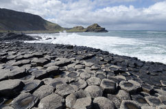 The Giants Causeway Stock Image