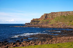Giants of causeway in Ireland Stock Images