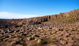 Giants Causeway in Ireland Stock Photos