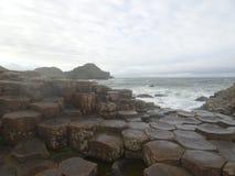 The Giants Causeway, Ireland Stock Images