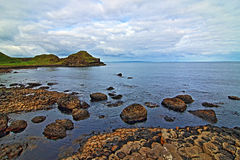 Giants Causeway at Low tide Stock Photography