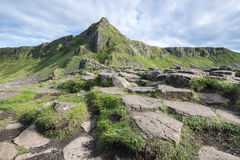 Giants, Causeway, National park, North Ireland Stock Photos