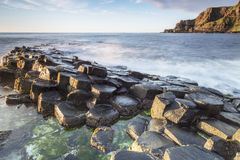 The Giants Causeway, North Ireland Stock Photos