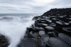The Giants Causeway, Northern Ireland Stock Photo