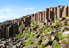 Giants Causeway in Northern Ireland Royalty Free Stock Photos