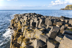 Giants Causeway in Northern Ireland Stock Photos