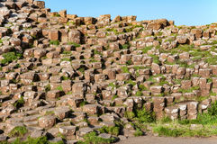 Giants Causeway in Northern Ireland Stock Image