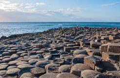 Giants Causeway in Northern Ireland Stock Photography