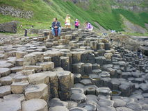Giants Causeway. A popular tourist destination in Northern Ireland royalty free stock photography