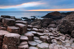 Giants Causeway Scenic View Royalty Free Stock Image