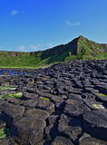 Giants Causeway - Steps going up Royalty Free Stock Photos