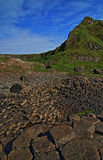 Giants Causeway on sunny Irish day Royalty Free Stock Images
