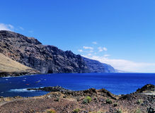 The Giants Cliffs on Tenerife Royalty Free Stock Photography