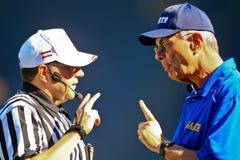 Giants contro Vichinghi Immagini Stock