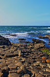 Giants-Damm-Atlantik-Ansicht stockfotografie