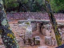Giants grave, Arzachena, Sardinia Royalty Free Stock Photography
