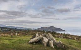 Giants graves at Lamlash on the Isle of Arran. Stock Photo