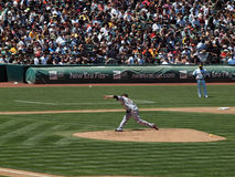 Giants Jonathan Sanchez Throws a pitch Royalty Free Stock Image