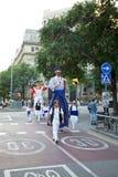 Giants Parade in Barcelona La Mercè Festival  2013. Barcelona La Mercè Festival  2013. Giants Parade in Barcelona Stock Photography