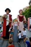 Giants Parade in Barcelona La Mercè Festival  2013 Royalty Free Stock Images