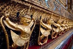 Giants in Royal Palace, Bangkok Stockbilder