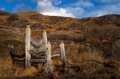 Giants Seat. On Craflwyn estate in Wales Royalty Free Stock Image