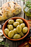 Giants Spanish olives Stock Photos