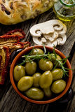 Giants Spanish olives Royalty Free Stock Image