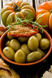 Giants Spanish olives Royalty Free Stock Photos