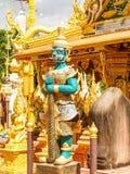 Giants Thai. UBON RATCHATHANI, THAILAND - July 14: Temple Thailand Stock Photo