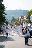 Giants-Theater auf der Straße Stockbilder