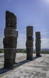 Giants of Tula. Atlantes de Tula (Giants of Tula) in Mexico Royalty Free Stock Photos