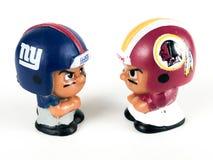 Giants v ` L диаграммы Li краснокожих игрушки товарищей по команде Стоковые Изображения