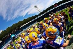 Giants vs. Vikings Royalty Free Stock Images