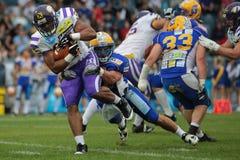 Giants vs. Vikings Stock Photo